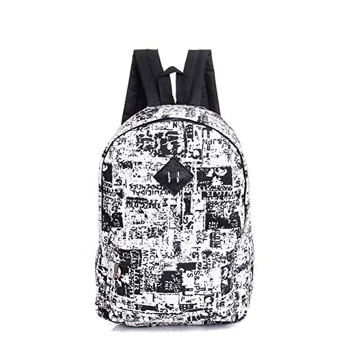 Bag School Camouflage Graffiti Canvas Outdoors Students Wicemoon Travel Hiking Rucksack Unisex q1RxAtAw7