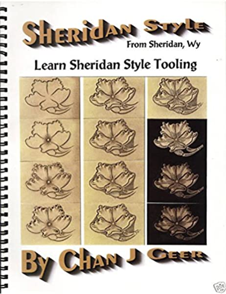 """Patterns for Belts 3//4/"""" to 2/"""" by Chan Geer Sheridan Style Leather Patterns"""