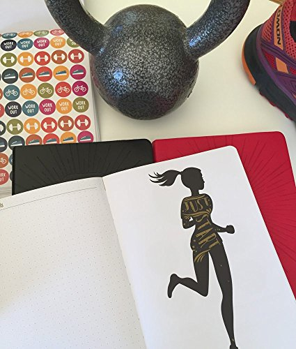 Commit30 Fitness Journal (Red)