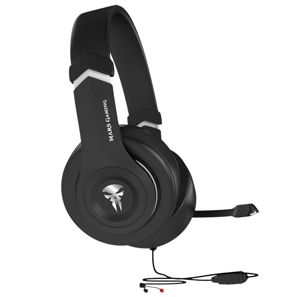 micr/ófono auriculares superbass 50 mm ps4 Mars gaming mhx pc xbox switch