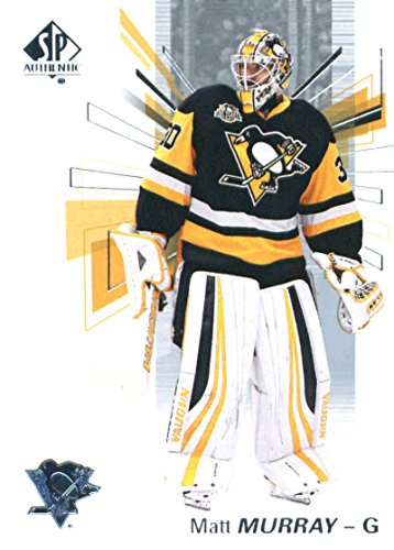 2016-17 Upper Deck SP Authentic #75 Matt Murray Pittsburgh Penguins Hockey Card