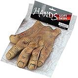 Bristol Novelty MD086gigante manos,–Maletín, Marrón, talla única