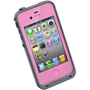 new arrival 79598 d26e7 Amazon.com: LifeProof FRĒ iPhone 4/4s Waterproof Case - Retail ...