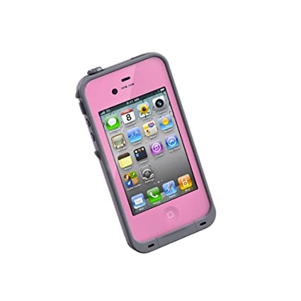 huge discount a77ed d7f4c LifeProof FRĒ iPhone 4/4s Waterproof Case - Retail Packaging - PINK/GREY  (Discontinued by Manufacturer)
