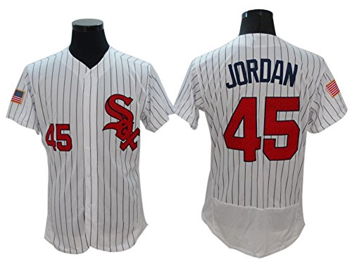 online store 3f13a 29ab0 Michael Jordan 45# Jersey Chicago White Sox Jerseys Gray ...