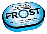 ICE BREAKERS FROST Mints, Peppermint, Sugar Free, 1.2 Ounce Container (Count of 6)