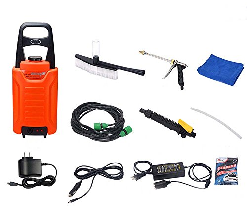 Hfa 110b4 Portable Domestic High Pressure Car Washer Self Suction