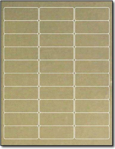 Gold Foil Address Labels 2 5/8