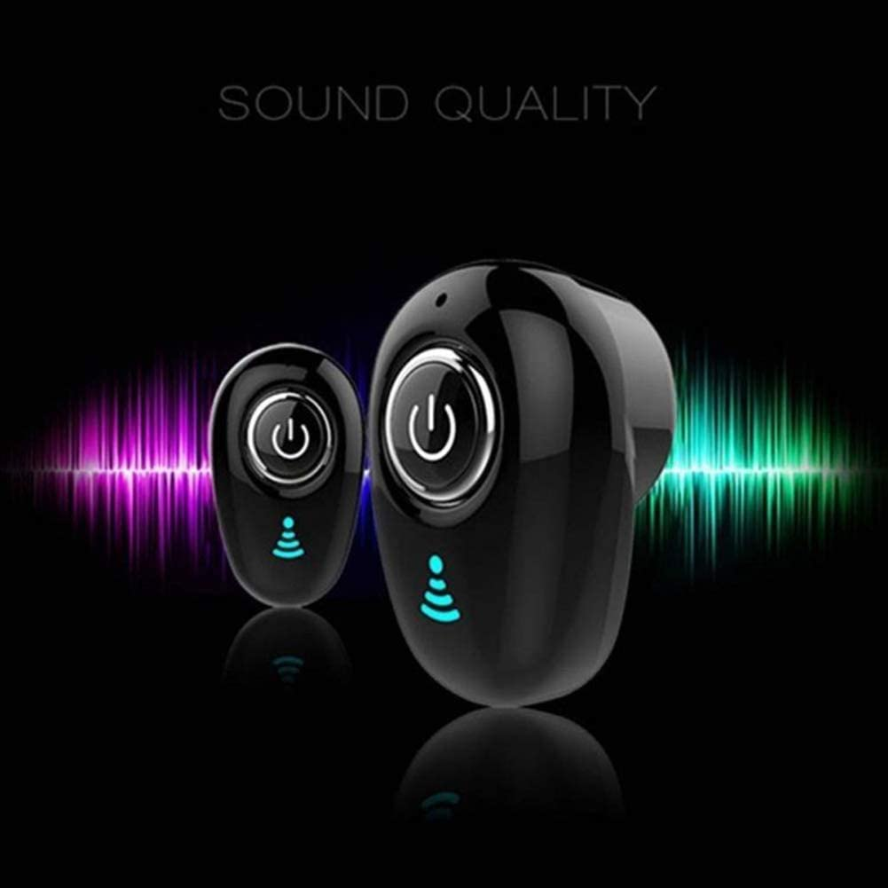 HOVTOIL S650 Portable Mini Wireless Stereo Bluetooth 4.1 Sports Earphone in-Ear Earbud High Performance Easy to Use