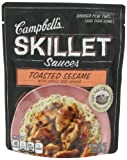 Campbell's Skillet Sauces, Toasted Sesame with Garlic and Ginger, 9-Ounce Pouches (Pack of 8)