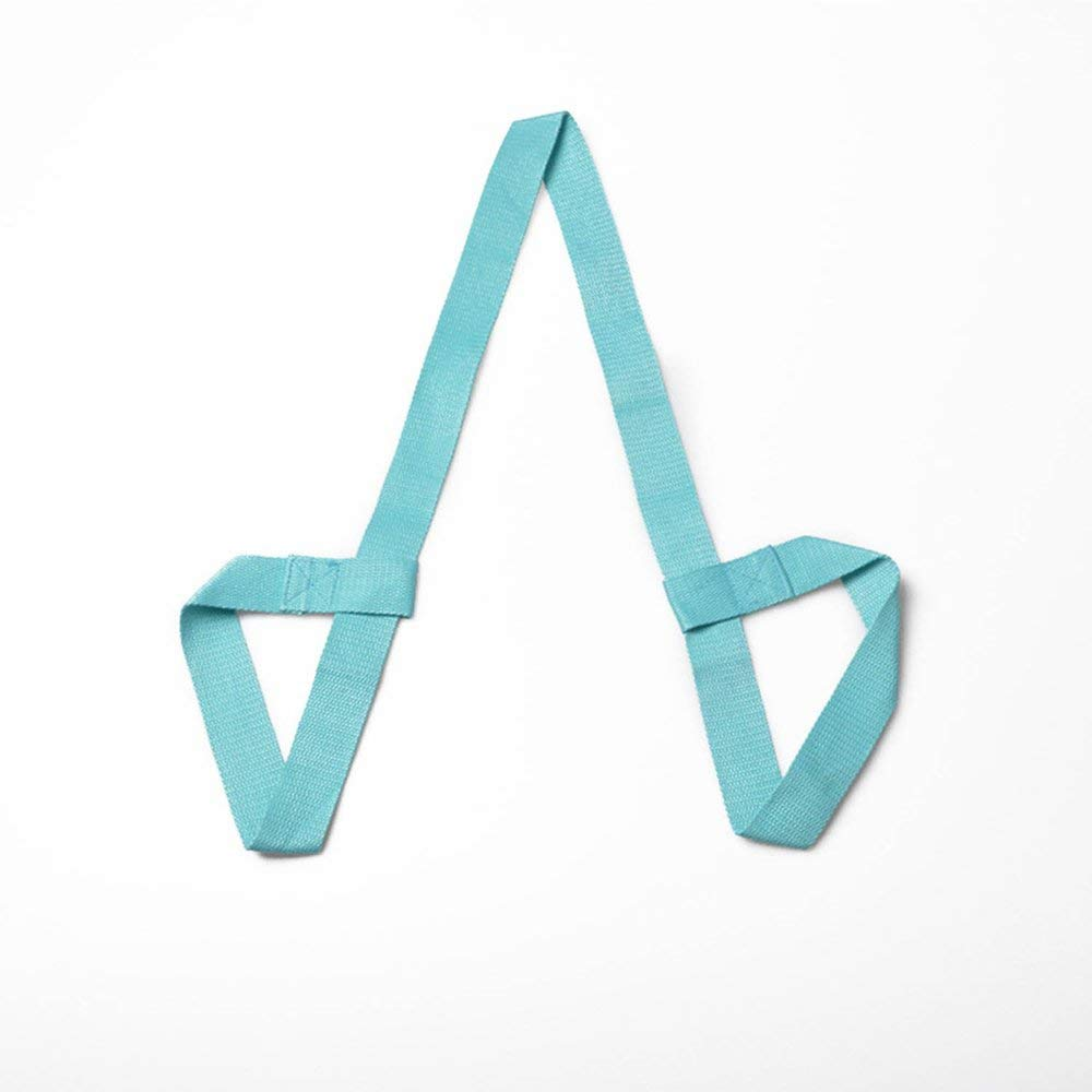 Yoga Mat Strap Durable Carry Strap Sling Lake Blue