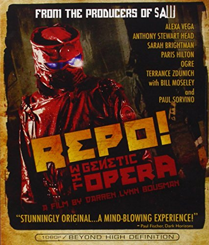 Blu-ray : Repo The Genetic Opera (, Dolby, AC-3, Digital Theater System, Widescreen)