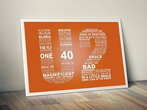 U2 Quote Limited Poster Artwork - Professional Wall for sale  Delivered anywhere in USA