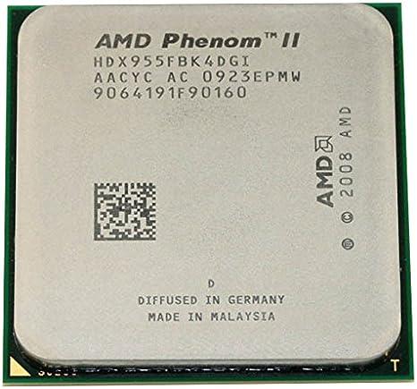 Amazon Com Amd Phenom Ii X4 955 Quad Core 3 2ghz 6mb Cpu Processor Socket Am2 Am3 938 Pin 125w Computers Accessories