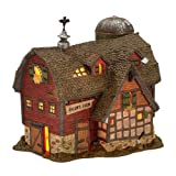 Department 56 New England Village Salem's Farm Lit House, 5.9 inch