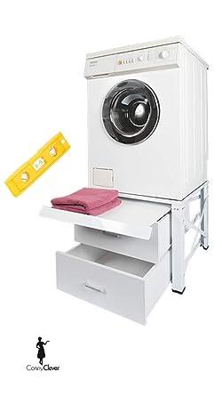 Gut bekannt Untergestell für Waschmaschine Extra Hoch mit 2 Schubladen und LG27