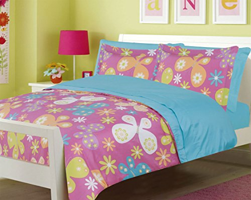 Pink And Blue Comforters - 7