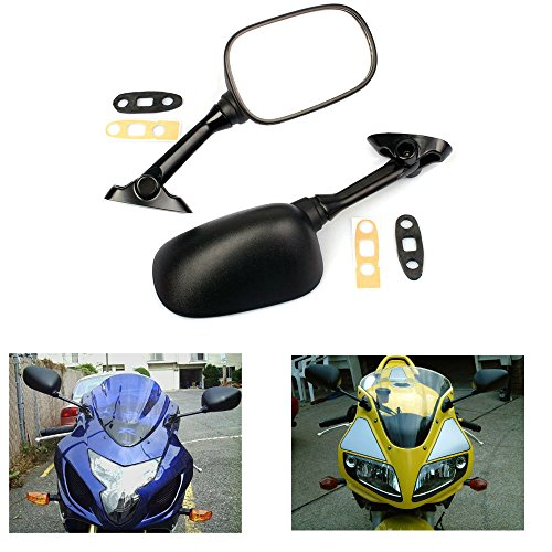 - MZS Motorcycle Mirrors Rear View compatible Suzuki GSXR600 GSX R600 2001-2012/ GSXR750 GSXR 750 2001-2012/ GSXR1000 GSXR 1000 2001-2012/ GSX650F 2008-2012/ SV650 SV650S SV1000 SV1000S 2003-2008