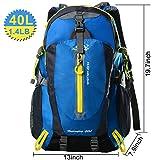 Waterproof Hiking Backpacks, Women and Men Lightweight...