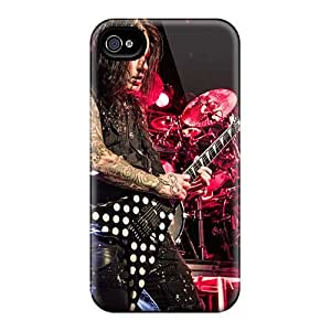 TimeaJoyce Iphone 4/4s Shock Absorbent Cell-phone Hard Covers Provide Private Custom Realistic Machine Head Band Pictures [hOo2468zCLo]