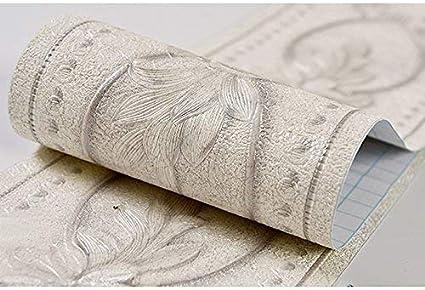 per cucina e bagno 10,8 x 49,5 cm motivo 3D rimovibile autoadesivo Bordo adesivo per carta da parati impermeabile