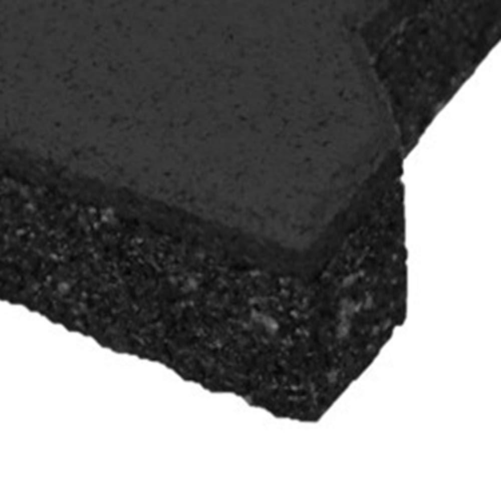 43 mm Gummiziegel Gr/ün H-Form