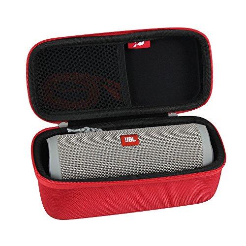 Hard EVA Travel Case for JBL Flip 3 / Flip 4 Splashproof Portable Bluetooth Speaker by Hermitshel