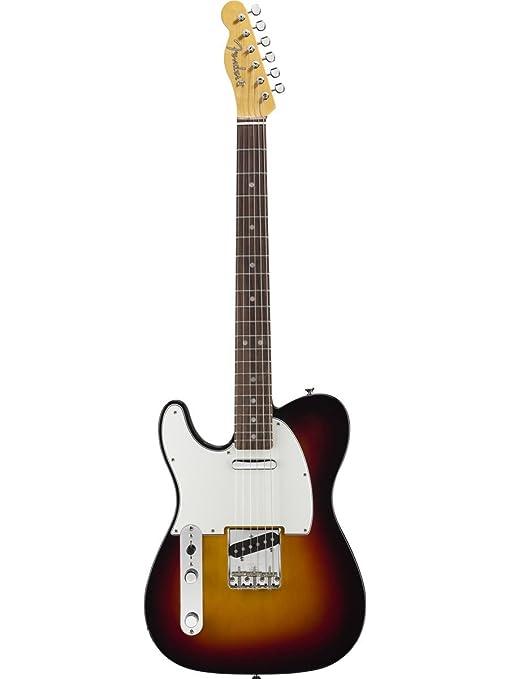 Fender 0110202850 American Vintage 52 Telecaster Maple Fingerboard guitarra eléctrica – Butterscotch Blonde-P