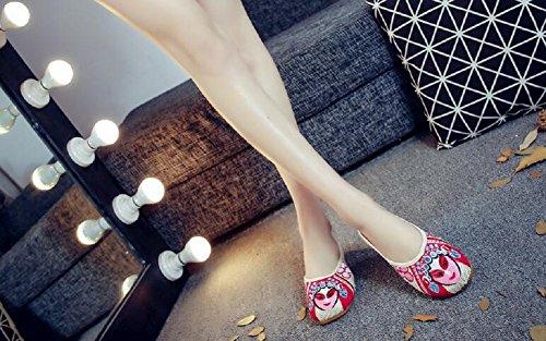 Lazutom - Zapatillas de estar por casa para mujer beige beige