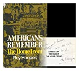 img - for Americans remember the home front: An oral narrative book / textbook / text book