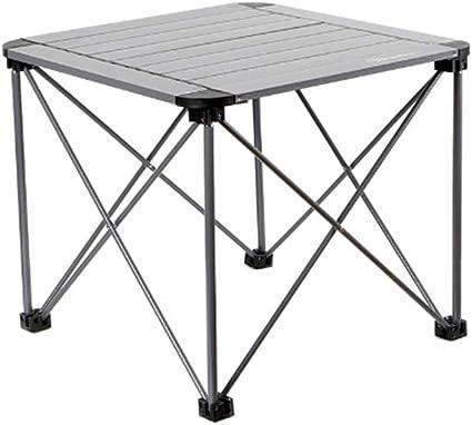 ZHOUAICHENG Mesa portátil de aleación de Aluminio Muebles de ...