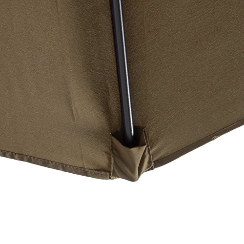Bellezza© Premium Patio Umbrella 10' Feet Patio Tilt W/ Crank Outdoor Cantilever,...