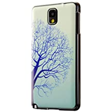 Galaxy Note 3 Case, Cruzerlite Print Case (PC Case) Compatible for Samsung Galaxy Note 3 - Blue Tree