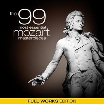 99 Meisterwerke von Mozart