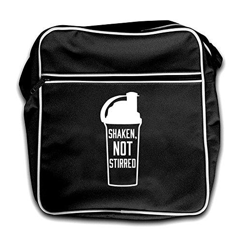 Shaken Not Flight Protein Stirred Black Red Bag Retro Shake fCfwrXUq