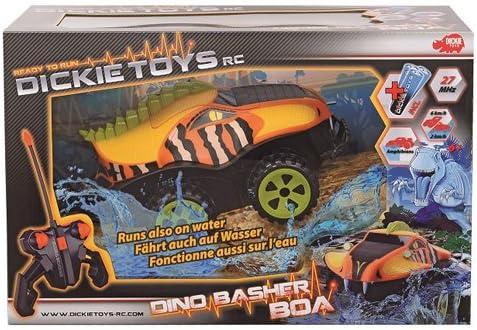 Dickie Toys 201119087 RC Dino Basher Boa Macchina Radiocomandata