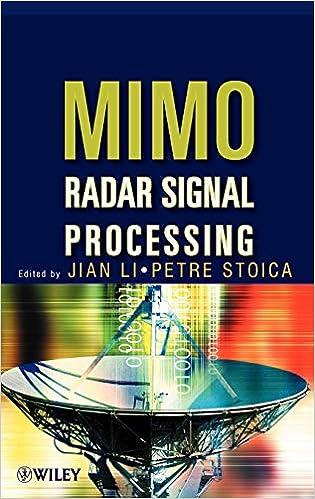 MIMO Radar Signal Processing: Jian Li, Petre Stoica
