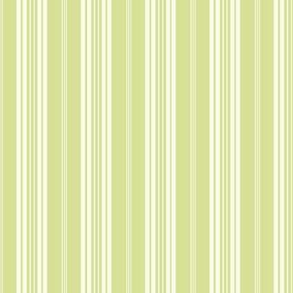 York Wallcoverings SV2663 Waverly Stripes Boot Cut Stripe Wallpaper White Green