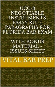 Florida bar exam essays