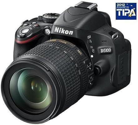 Nikon D5100 + AF-S DX Nikkor 18 - 105 mm f/3.5 - 5.6 G ED VR -