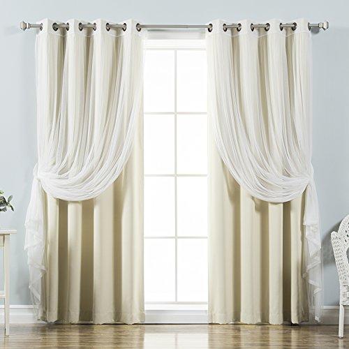 Sheer Kitchen Curtains Amazon Com: Romantic Sheer Curtains: Amazon.com