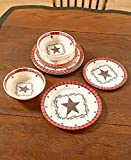 The Lakeside Collection 12-Pc. Dinnerware Set-Country Star