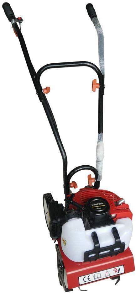 Motoazada eléctrica, 52 cc, motor de 2 tiempos, ancho de trabajo 30 cm, profundidad de trabajo 10 cm