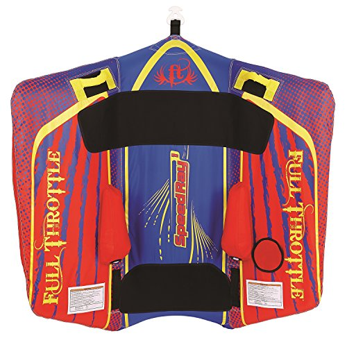 Full Throttle Speed Ray 1-1 Rider Color is Red/Blue