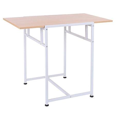 Mesa Plegable de Madera de 91 cm para Oficina en casa, Escritorio ...