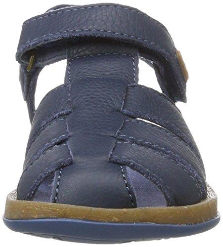 Camper Bicho, Sandalias de Gladiador para Niños Azul (Blue 042)