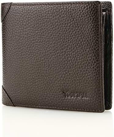 YOOMALL Slim Leather Wallets for Men Rfid Blocking Bifold Money Wallet