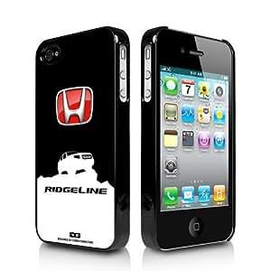 Honda Ridgeline on Rock iPhone 4 4S Black Cell Phone Case