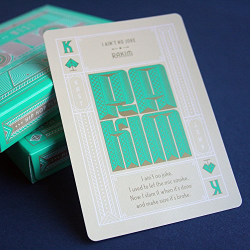 Rap Quote Hip-Hop Playing Cards Volume 1: East vs. West