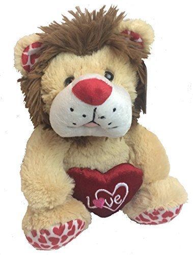 Valentines Day Gift -- Safari Themed Stuffed Animal -- Adorable 10 Plush Lion
